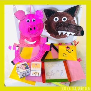 Three Little Pigs Box