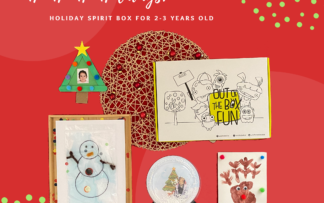 Holiday Spirit Box 2-3 years old