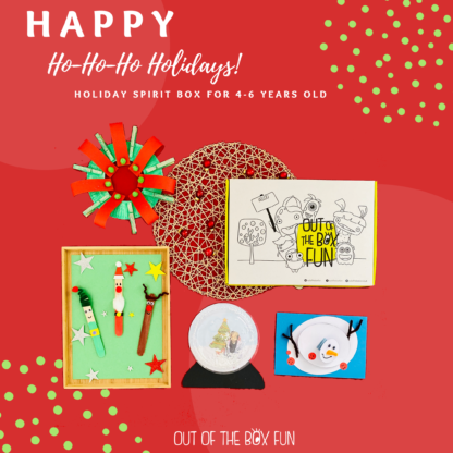 Holiday Spirit Box 4-6 Years old